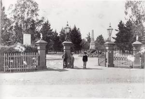 Old Prince's gates in Kardina Park c 1910