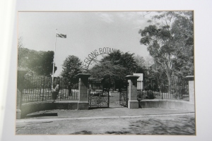 Geelong Botanic Garden entrance c 1980